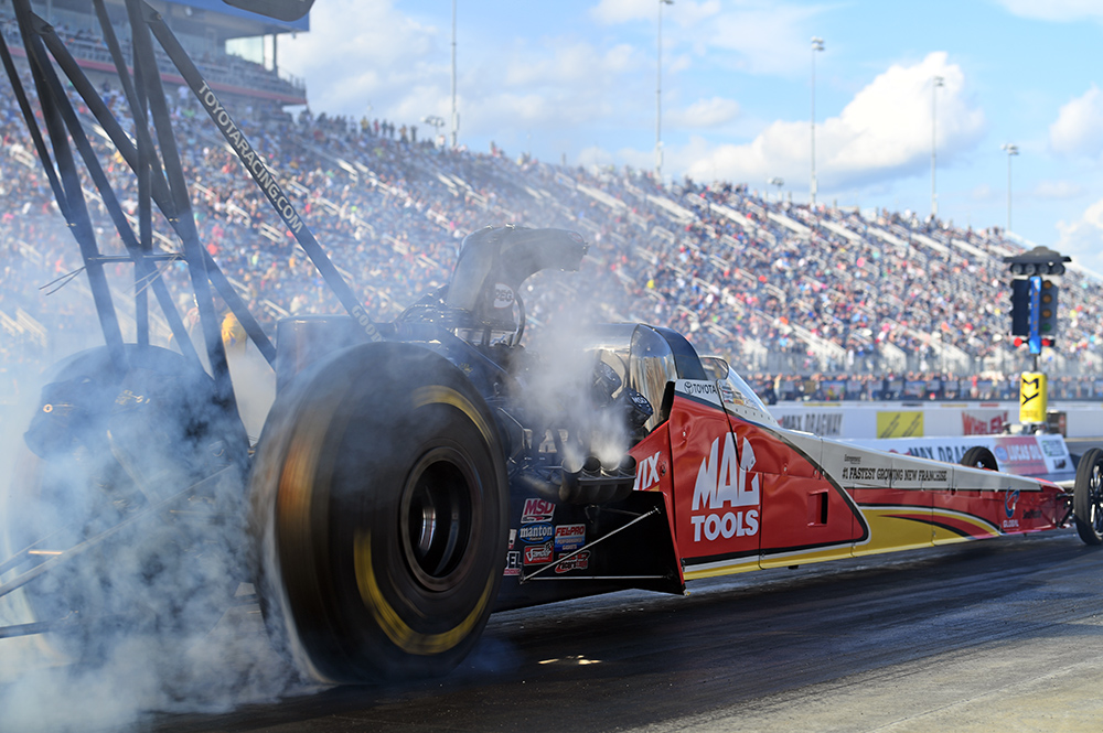 Doug Kalitta 4wide